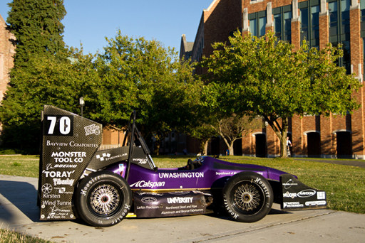 UW FSAE Team 23 car